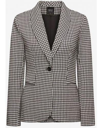 Трикотажный пиджак - белый Faberlic