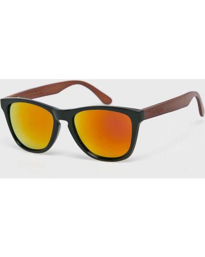 Солнцезащитные очки стеклянные квадратные True Spin