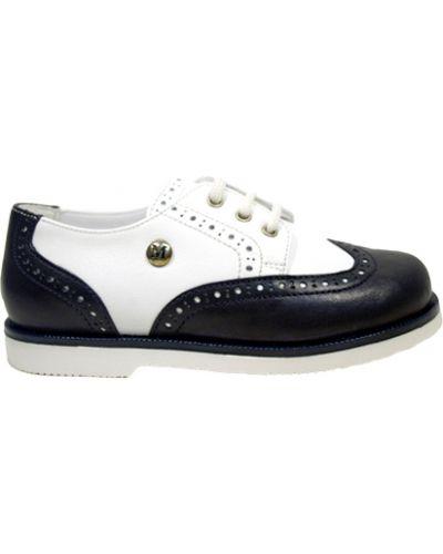 Туфли белый черные Missouri