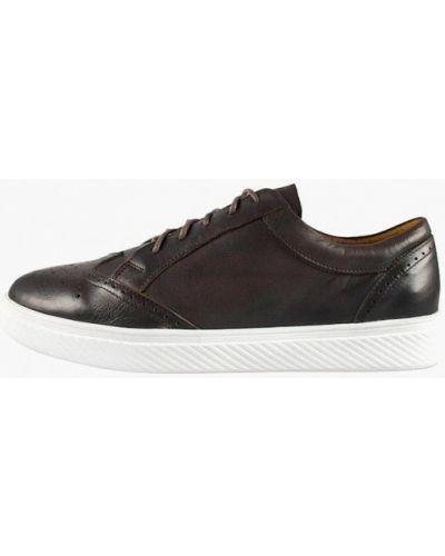 Кожаные ботинки - коричневые Zlett