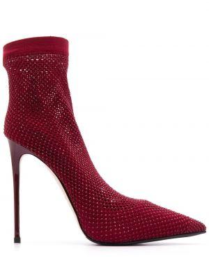 Красные туфли-лодочки на каблуке Le Silla