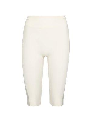Трикотажные шорты - белые Reebok X Victoria Beckham