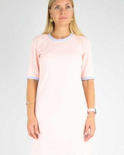 Розовое повседневное платье Dasti
