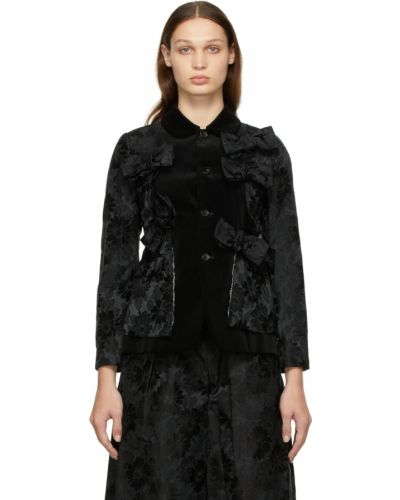 Черная куртка с карманами Comme Des Garçons Comme Des Garçons