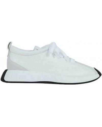 Białe sneakersy Giuseppe Zanotti