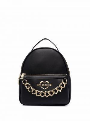 Czarny łańcuszek Love Moschino