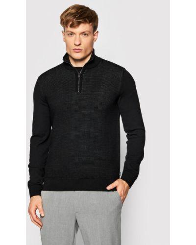 Sweter - czarny Boss
