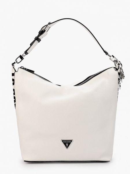Кожаная сумка шоппер весенний Guess
