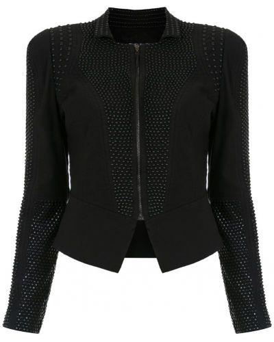 Пиджак черный на молнии Tufi Duek