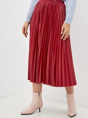 Плиссированная юбка - бордовая Mexx