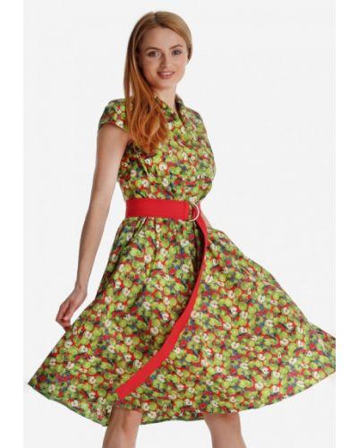 Платье прямое весеннее Artwizard