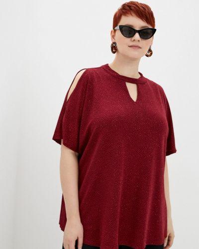 Красная блузка с короткими рукавами Evans