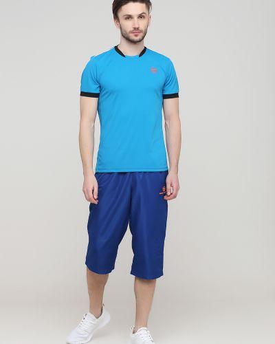 Спортивные шорты - синие Sergio Tacchini
