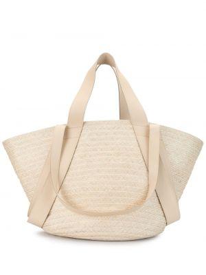 Кожаная плетеная сумка-тоут на молнии Discord Yohji Yamamoto