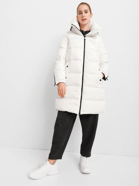 Пуховое пальто - белое Geox