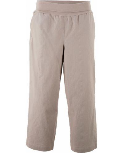 Свободные брюки льняные Bonprix