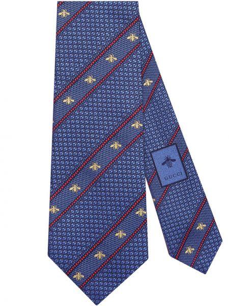 Krawat włoski długo Gucci