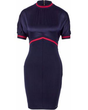 Платье мини со вставками Armani Exchange