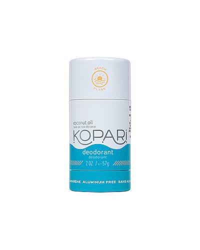 Пляжный кожаный дезодорант для тела свободного кроя Kopari