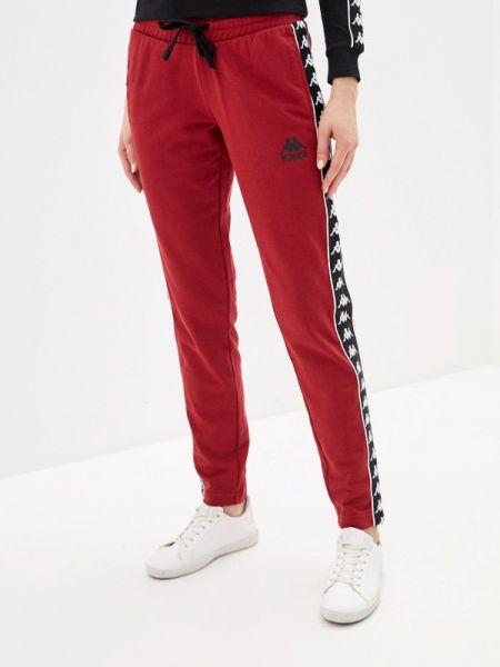 Спортивные брюки бордовый красный Kappa