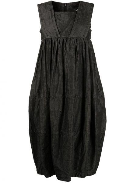 Шерстяное платье миди - черное Comme Des Garçons Comme Des Garçons