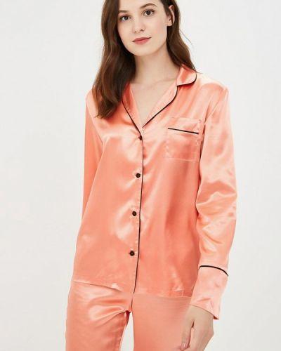 Блузка с длинными рукавами - оранжевая Nemes
