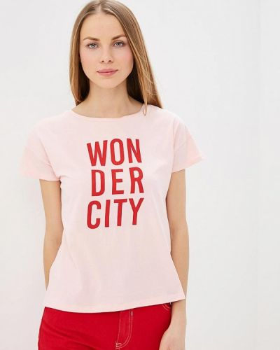 Розовая футболка 2019 Springfield