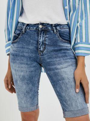 Синие джинсовые шорты Mossmore