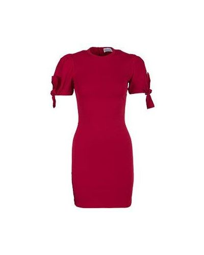 Красное платье из вискозы Valentino Red
