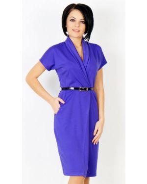 Платье миди деловое платье-сарафан Ajour