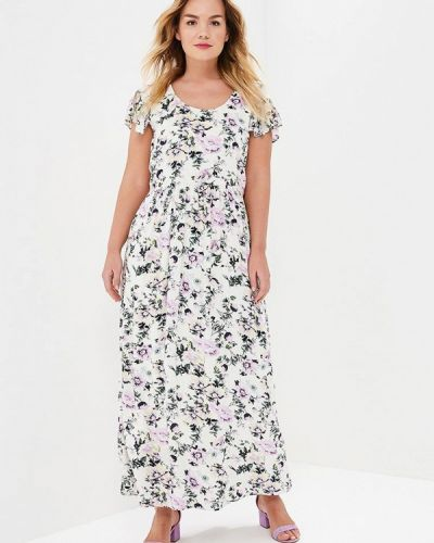 Белое платье Zizzi
