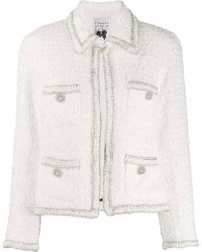 Удлиненный пиджак с карманами с воротником Edward Achour Paris