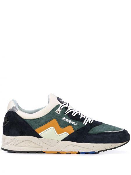 Замшевые кроссовки - зеленые Karhu