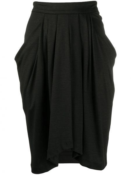 Шерстяное платье - черное Isabel Marant