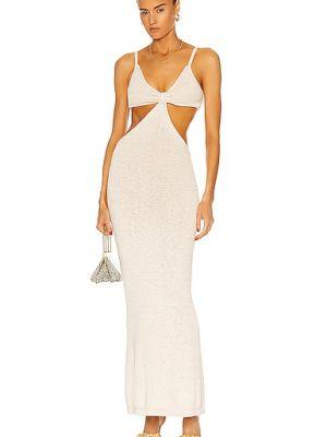 Хлопковое платье - белое Cult Gaia