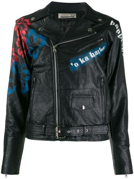 Черная куртка с манжетами Night Market