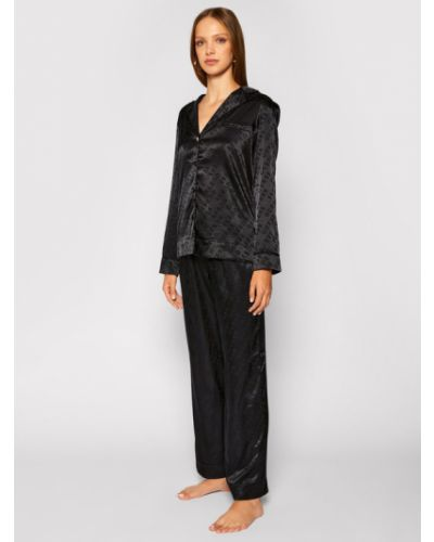 Czarna piżama Guess