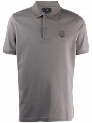Koszula z haftem Dunhill