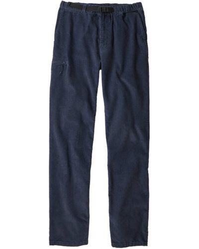 Spodnie sztruksowe na co dzień zapinane na guziki Patagonia