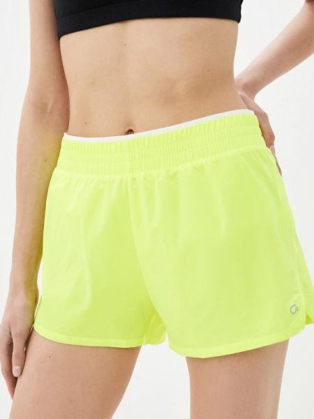 Повседневные желтые спортивные шорты Gap