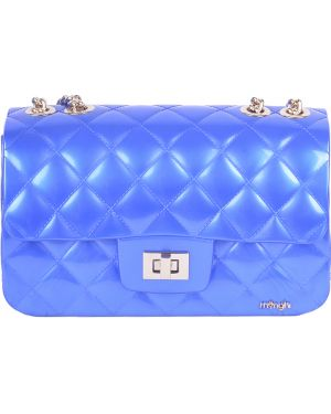 Силиконовая сумка - синяя Menghi