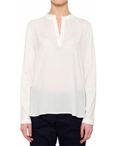 Блузка шелковая белая Bogner