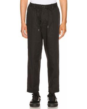 Klasyczne czarne spodnie klasyczne bawełniane Drifter