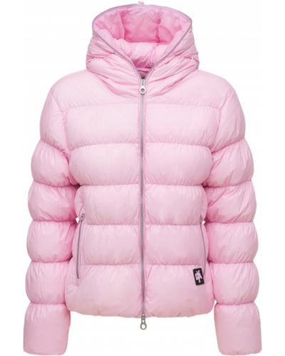 Куртка с капюшоном - розовая Duvetica