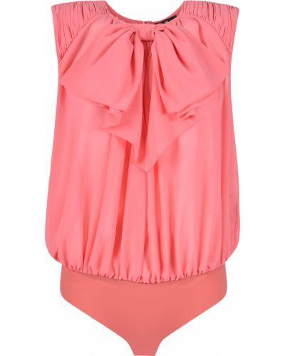 Боди блуза розовый Elisabetta Franchi