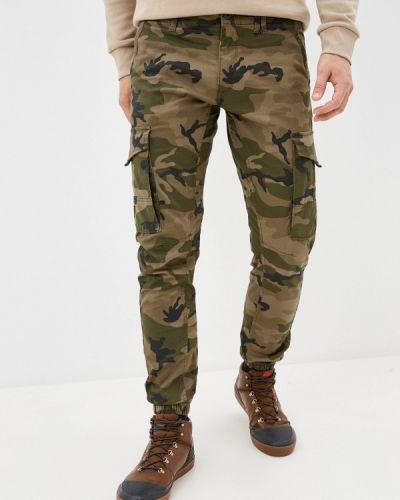 Зеленые брюки карго Jack & Jones