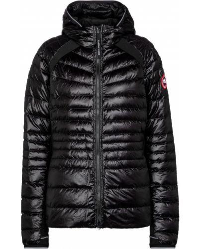 Облегченная пуховая черная куртка Canada Goose