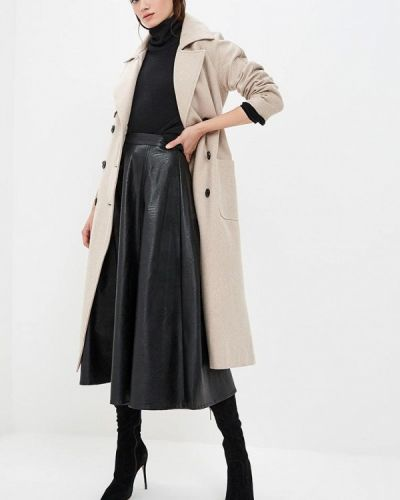 Пальто бежевое пальто On Parle De Vous