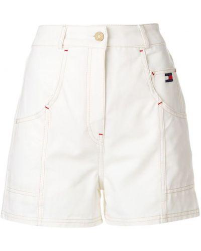 Белые шорты с карманами Tommy Hilfiger