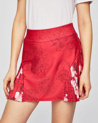 Плиссированная юбка карандаш на резинке с рукавом 3/4 Desigual Sport